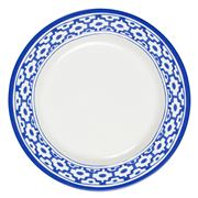 Oscar de la Renta - Blue Tiled Dinner Plate