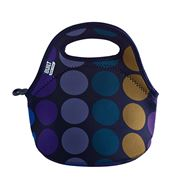 Built NY - Gourmet Getaway Plum Dot Mini Snack Tote