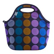 Built NY - Gourmet To Go Plum Dot Lunch Tote