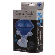 Games - 3D Crystal Jigsaw Puzzle Sapphire