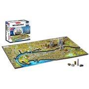 Games - 4D Cityscape Melbourne Jigsaw Puzzle 1200pce
