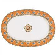 V&B - Samarkand Mandarin Oval Platter 41cm