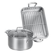 Scanpan - Impact Roasting Pan & Dutch Oven Set