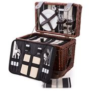 Satara - Willow Picnic Basket Set For Two