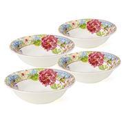 Gien - Millefleurs Cereal Bowl Set 4pce