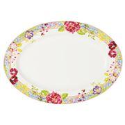 Gien - Millefleurs Large Oval Platter