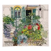 Gien - Paris a Giverny Large Square Plate