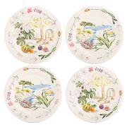 Gien - Provence Canape Plate Set 4pce