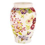 Gien - Millefleurs Fontainebleau Vase