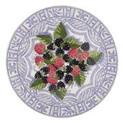 Gien - Oiseau Bleu Fruits Cake Platter