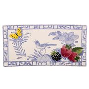 Gien - Oiseau Bleu Fruits Letter Tray