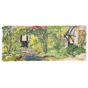 Gien - Paris a Giverny Rectangular Serving Tray