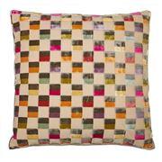 Dransfield & Ross - Clarendon Multi-Check Cushion 58x58cm