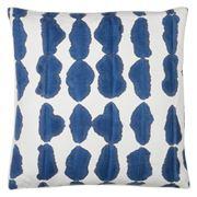 Dransfield & Ross - Shibori Accordian Fold Cushion Indigo