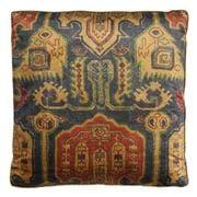Dransfield & Ross - Pamook Cushion Azure & Wine 58x58cm