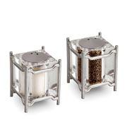 L'objet - Han Platinum Salt & Pepper Shaker Set