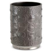 L'objet - Crocodile Grey Pencil Cup