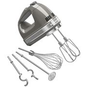 KitchenAid - Artisan Contour Silver 9 Speed Hand Mixer