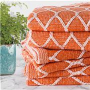 Sferra - Orazio Tangerine Throw Rug