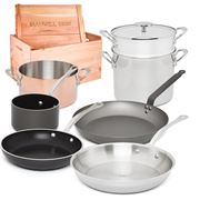 Mauviel - Les Essentials Cookware Set 8pce
