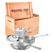 Mauviel - M'cook Stainless Steel Cookware Set 5pce