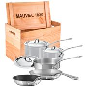 Mauviel - M'cook Stainless Steel Cookware Set 8pce