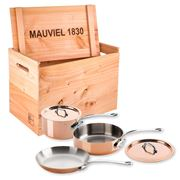 Mauviel - M'heritage Cookware Set 5pce