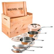 Mauviel - M'heritage 150s Cookware Set 8pce