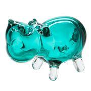 Zibo - Turquoise Hippopotamus