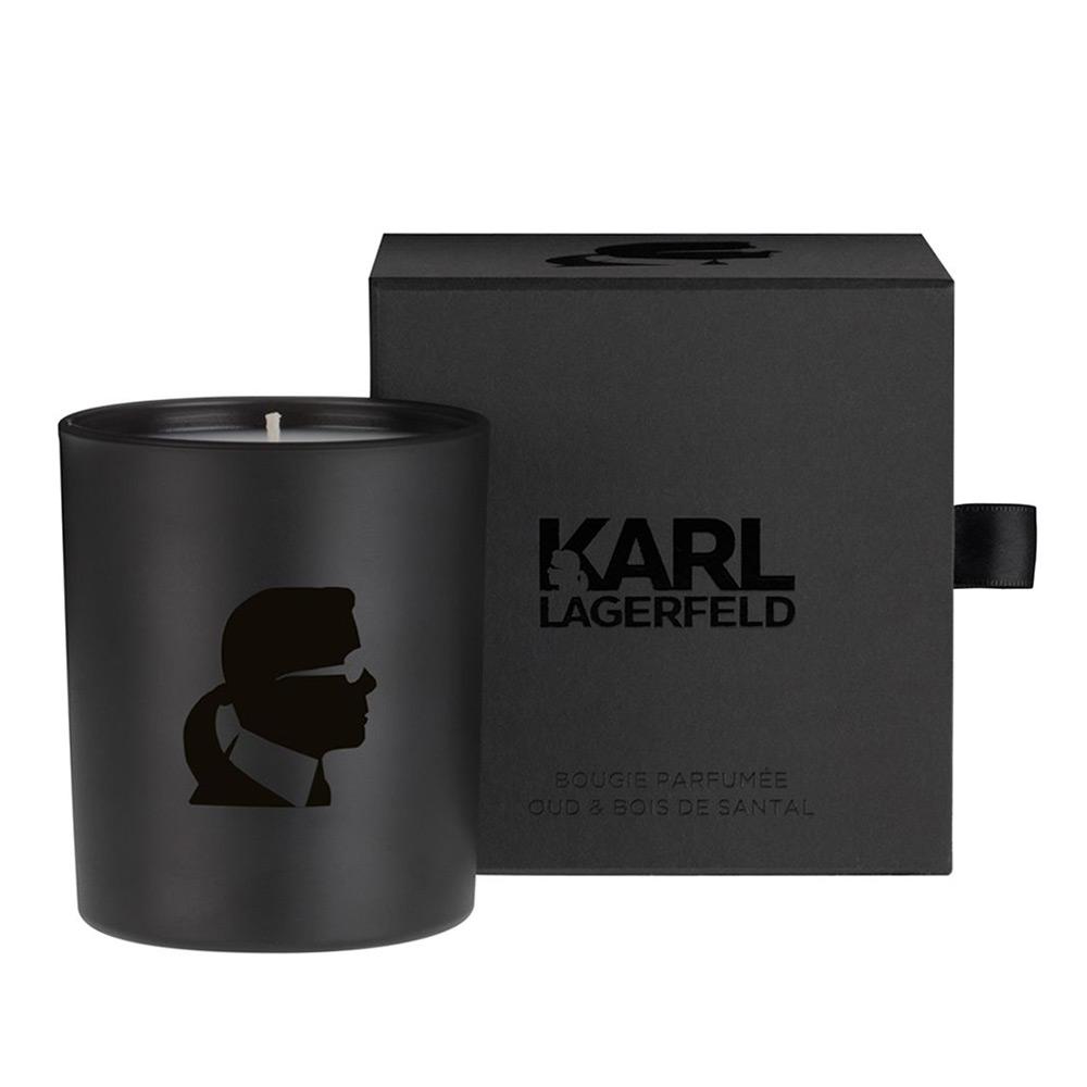 Welton Karl Lagerfeld Oud& Bois de Santal Candle Peter's of Kensington # Bois De Santal Parfum
