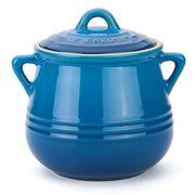 Le Creuset - Marseille Blue Heritage Stoneware Mini Bean Pot
