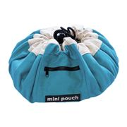 Play Pouch - Mini Ocean Blue Storage Pouch
