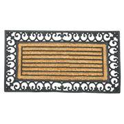 Kenware - Coir Rubber Scroll Mat 65x120cm