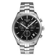 Tissot - PR100 Graphite Chrome Quarts Steel Black Dial