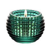 Baccarat - Eye Votive Candle Holder Green