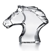 Baccarat - Horse's Head Ornament 12cm
