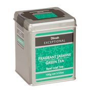 Dilmah - Exceptional Fragrant Jasmine Green Tea Tin 100g