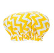 Annabel Trends - Chevron Yellow Shower Cap