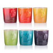 Le Creuset - Rainbow Mug Set 350ml/6pce
