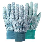 Briers - Moroccan Tile Medium Gardening Glove Set Of 3