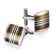 Dalvey - Admiralty Tiger's Eye Cufflinks