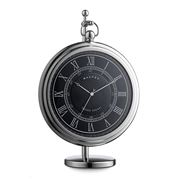 Dalvey - Sedan Black Clock with Stand