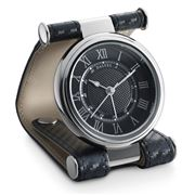 Dalvey - Cavesson Black Clock