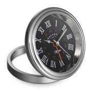 Dalvey - Clipper Black & Orange Clock