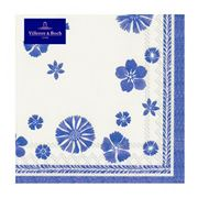 V&B - Blue Flowers Napkin Pack 20pce
