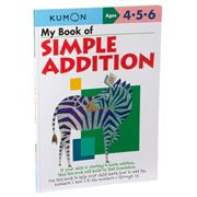 Book - Kumon My Book of Simple Addition