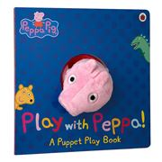 Book - Peppa Pig Play With Peppa Hand Puppet Book