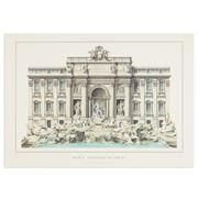 Lidiarte - Poster Roma Fontana De Trevi