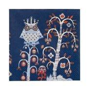 iittala - Taika Blue Paper Napkins 20pk