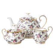 Royal Albert - 100 Years 1940s English Chintz Teapot Set